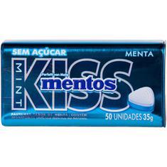 Pastilha Mint Kiss Mentos 35g