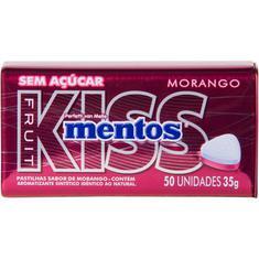 Pastilha Morango Kiss Mentos 35g