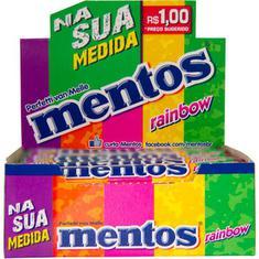 Bala Rainbow Stick Mentos 428,8g