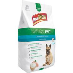 Alimento para Cães Sabor Frango com Arroz Baw Waw 1kg