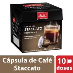 Cápsulas de Café Staccato Melitta 10x5g