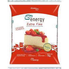 Açúcar Extra Fino Energy 1kg