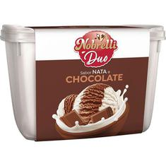 Sorvete Duo Nata e Chocolate Nobrelli 1,8L