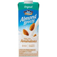 Bebida de Amêndoas Original Almond Breeze 1L