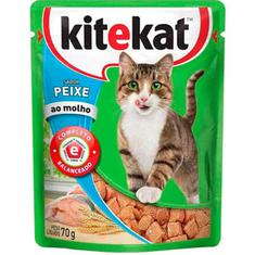 Alimento para Gatos Sabor Peixe Kitekat 70g