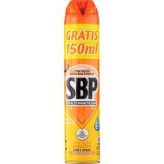 Multi Inseticida Aerossol Óleo de Citronela SBP 450ml Grátis 150ml