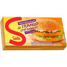 Hamburguer Empanado de Frango Sadia 360g