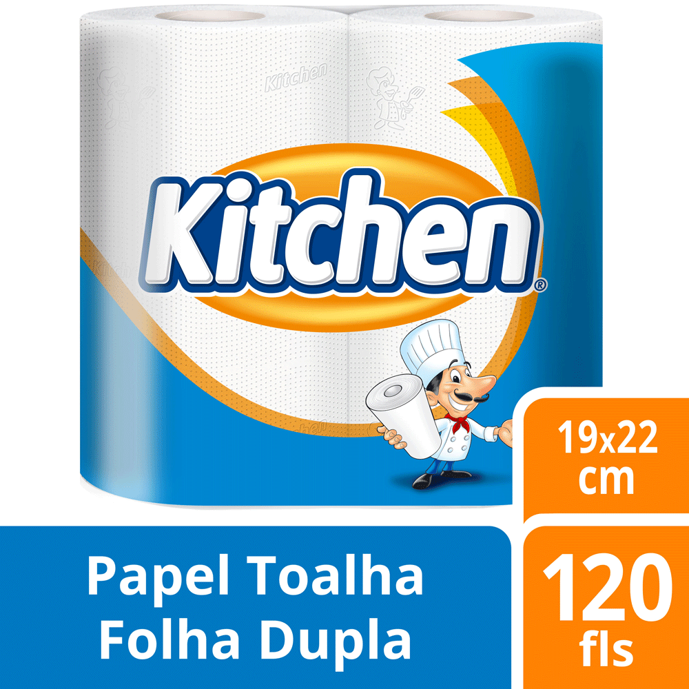Papel Toalha Kitchen 2 Unidades