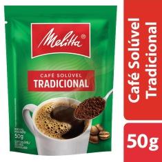 Café Solúvel Granulado Tradicional Melitta 50g