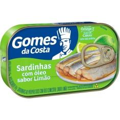 Sardinha com Limão Gomes da Costa 125g