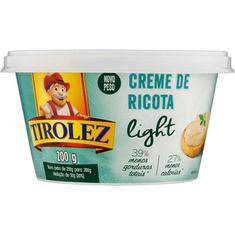Creme de Ricota Light Tirolez 200g