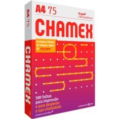 Papel Chamex A4 Laser 75g Pacote 500 folhas