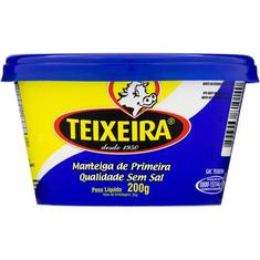 Manteiga Sem Sal Teixeira 200g