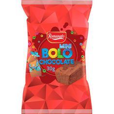 Mini Bolo de Chocolate Romanato 30g
