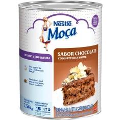 Recheio e Cobertura de Chocolate Moça Nestlé 2,540kg