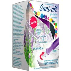 Gel Adesivo Sanitário Lavanda com Aplicador Sani-all 37g