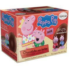 Ovos de Chocolate ao Leite Peppa Pig Top Cau 2x25g