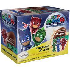 Ovos de Chocolate ao Leite Masks Top Cau 2x25g