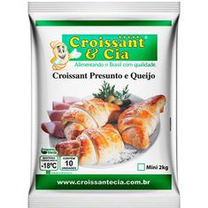 Croissant de Queijo e Presunto Croissant & Cia 1,3kg