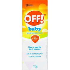 Repelente Gel sem Perfume Off! Baby 117g
