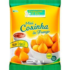 Mini Coxinha de Frango Croissant & Cia 1kg 40 un.