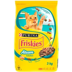 Ração para Gatos Sabor Atum Friskies 3kg