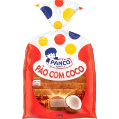 Pão Panco Caseiro de Coco 350g