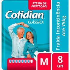 Fralda Geriátrica Cotidian M 8un