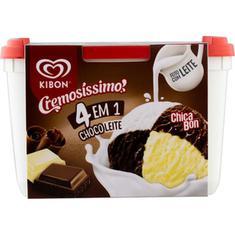 Sorvete Cremosíssimo ChocoLeite Kibon 2L