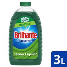 Lava Roupas Líquido Higiene Total Brilhante 3L