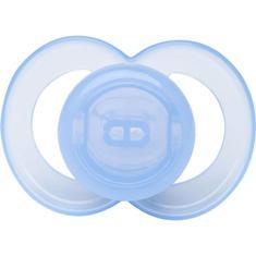 Chupeta de Silicone Ortodôntico Clean Azul T2 Lolly