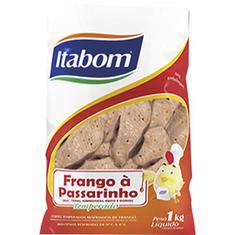Frango à Passarinho Temperado Itabom 1kg