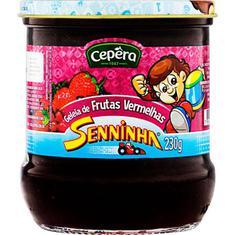 Geleia de Frutas Vermelhas Senninha Cepêra 230g