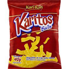 Salgadinho Sabor Bacon Karitos 40g