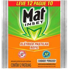 Inseticida Mat Inset Refil Leve 12 Pague 10un.