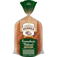 Pão de Forma Integral Wickbold Fermentação Natural 370g