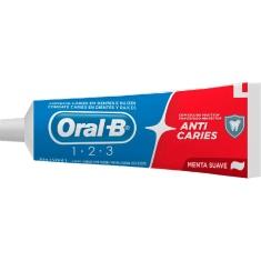 Creme Dental 1-2-3 S/Caixa Oral B 70g