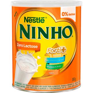 Leite em Pó Forti+ Zero Lactose Ninho 380g