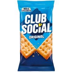 Biscoito Salgado Original Club Social 144g