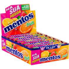 Bala Rainbow Stick Sabor Frutas Mentos 428,8g