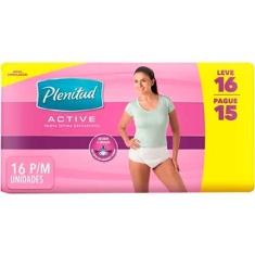 Fralda Geriátrica Plenitud Active Femme P/M 16 un.