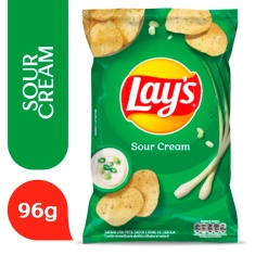 Batata Lays Sour Cream Elma Chips 96g