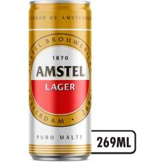 Cerveja Premium Amstel 269ml