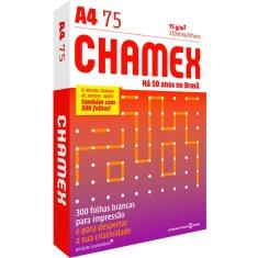 Papel A4 Chamex Laser 300 Folhas 75g