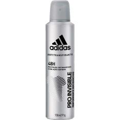 Desodorante Aerossol Invisible Masculino Adidas 150ml
