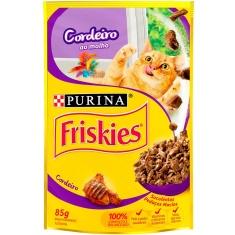 Alimento para Gatos Cordeiro Ao Molho Friskies 85g