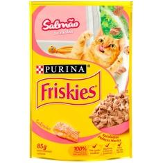 Alimento para Gatos Salmão Ao Molho Friskies 85g