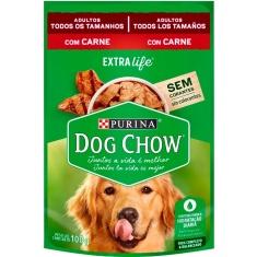 Alimento Para Cães Carne Ao Molho Dog Chow 100g