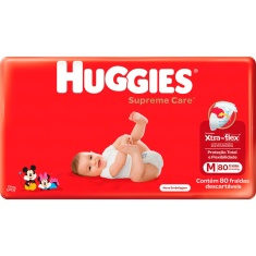 Fralda Supreme Care Hiper M 80un Huggies