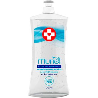 Álcool Gel Antisséptico Muriel 70% 250ml